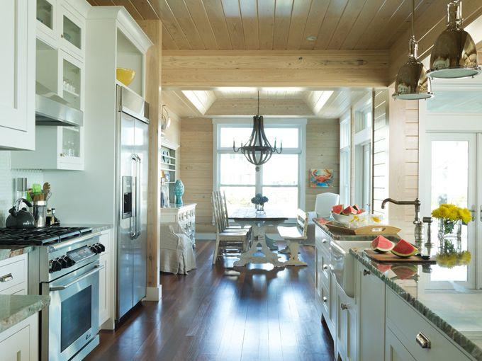 L Echapper Belle Bald Head Island Nc House Of Turquoise Bald Head Island Kitchen Layout