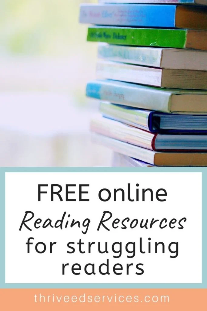 Free Online Resources For Teaching Struggling Learners At Home