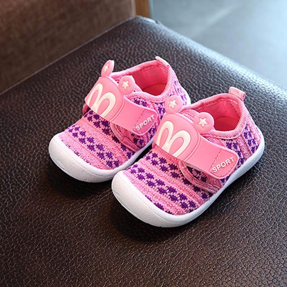 Toddler Children Kids Baby Cartoon Star Rabbit Ears Squeaky Single Shoes Sneaker