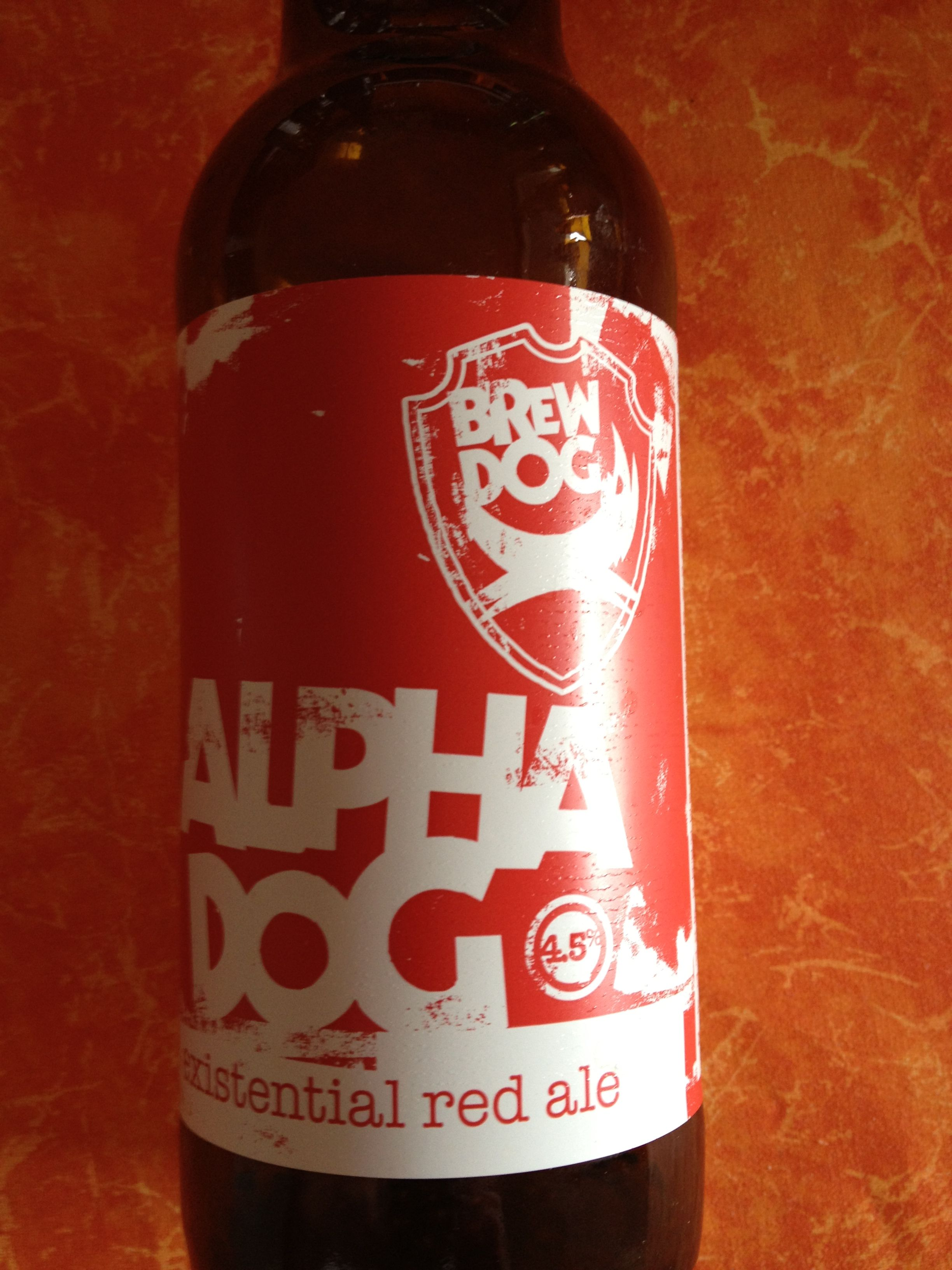 Brewdog Alpha Dog Formerly Brewed At Brewdog Style Bitter Ellon Aberdeenshire Scotland Beer Collection Wine Bottle Beer