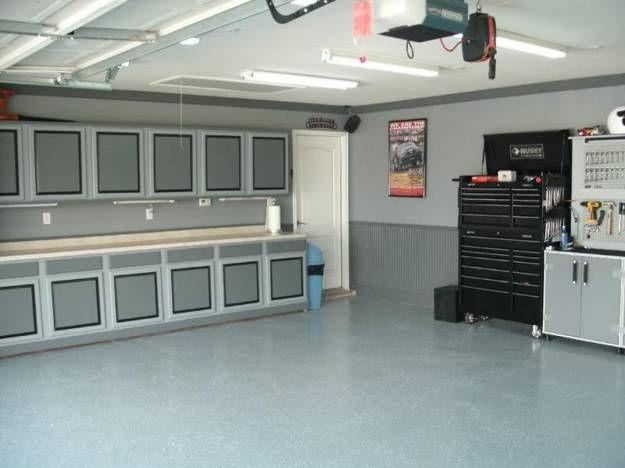 Large Garage With Storage Space Garage Design Interior Garage
