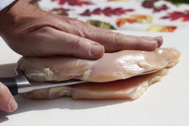 Butterfly chicken breast how to