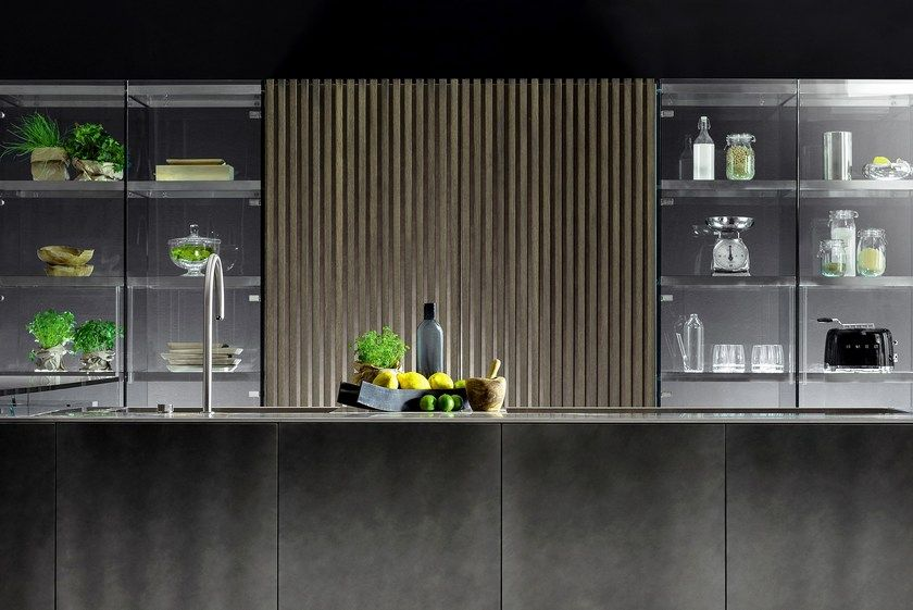 Cucina componibile con isola D90/12-D90/TP by TM Italia Cucine ...