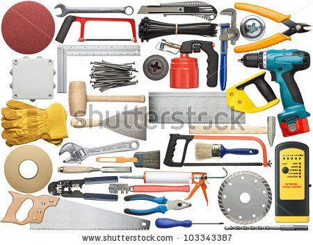 Tools For Wood, Metal And Other Construction Work. Stockfotonummer: 103343387 : Shutterstock