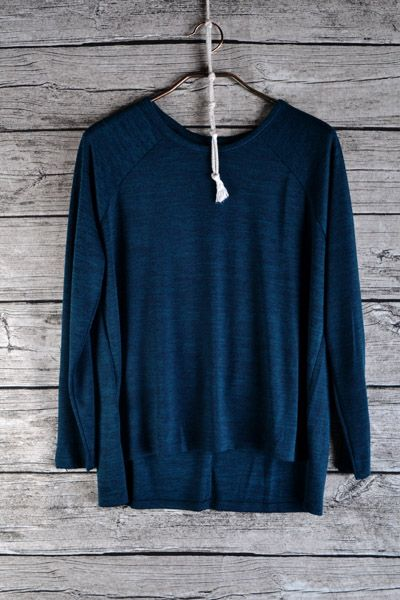Oh my goodness! This knit sweater is so comfortable and so soft! Yet not so heavy!   51% POLY 45% RAYON, 4% SPAN