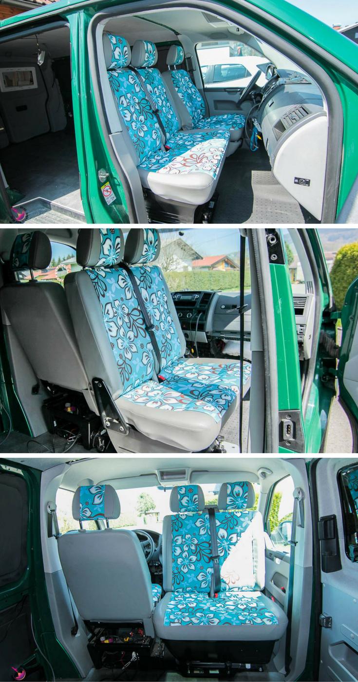 vw t5 ausbau einbau drehkonsole doppelsitzbank vw bus. Black Bedroom Furniture Sets. Home Design Ideas