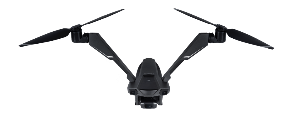 Bizarre Bicopter Drone Uses Two Tilting Rotors For 50 Minute Flights Small Drones Drone Cool Gadgets To Buy