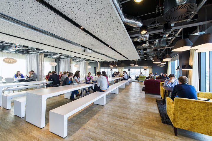 Caf t ria restaurant d 39 entreprise design d coration d 39 entreprise originale pinterest - Plafond livret jeune credit agricole ...
