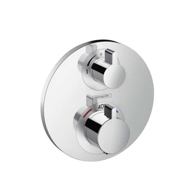 Pics Of Ecostat S thermostatic mixer for concealed installation with integrated shut off diverter valve