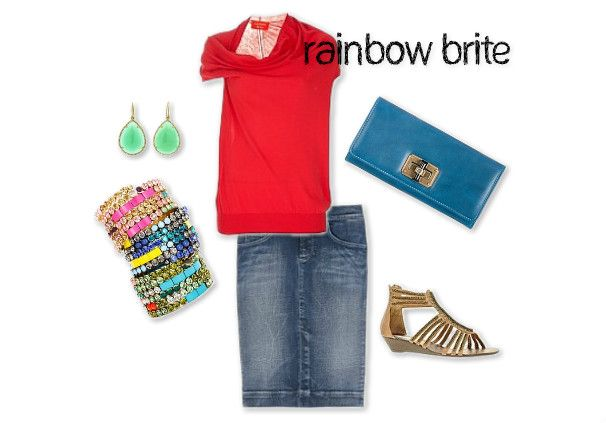 I call this modern Punky Brewster :)