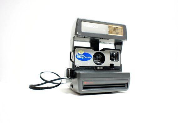 Talking Polaroid Camera 636 Onestep Film Tested Working Etsy Polaroid Camera Close Up Lens Instant Film