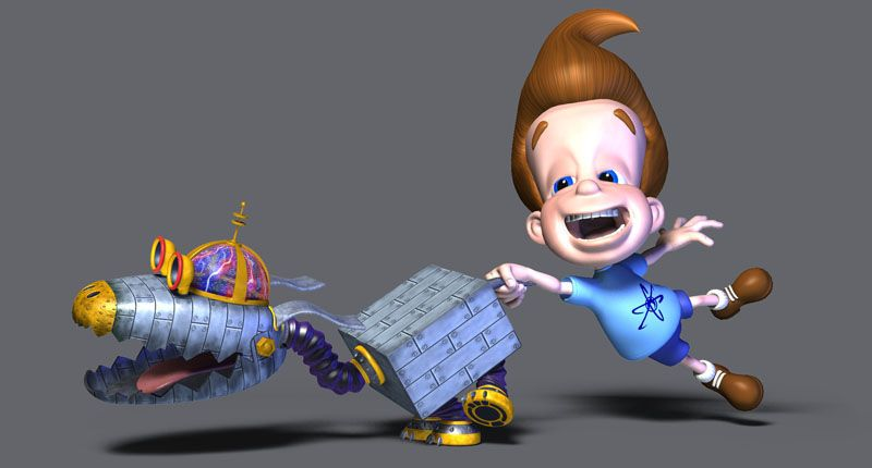Goddard And Jimmy Neutron Jimmy Neutron Favorite Cartoon Character Dog Movies
