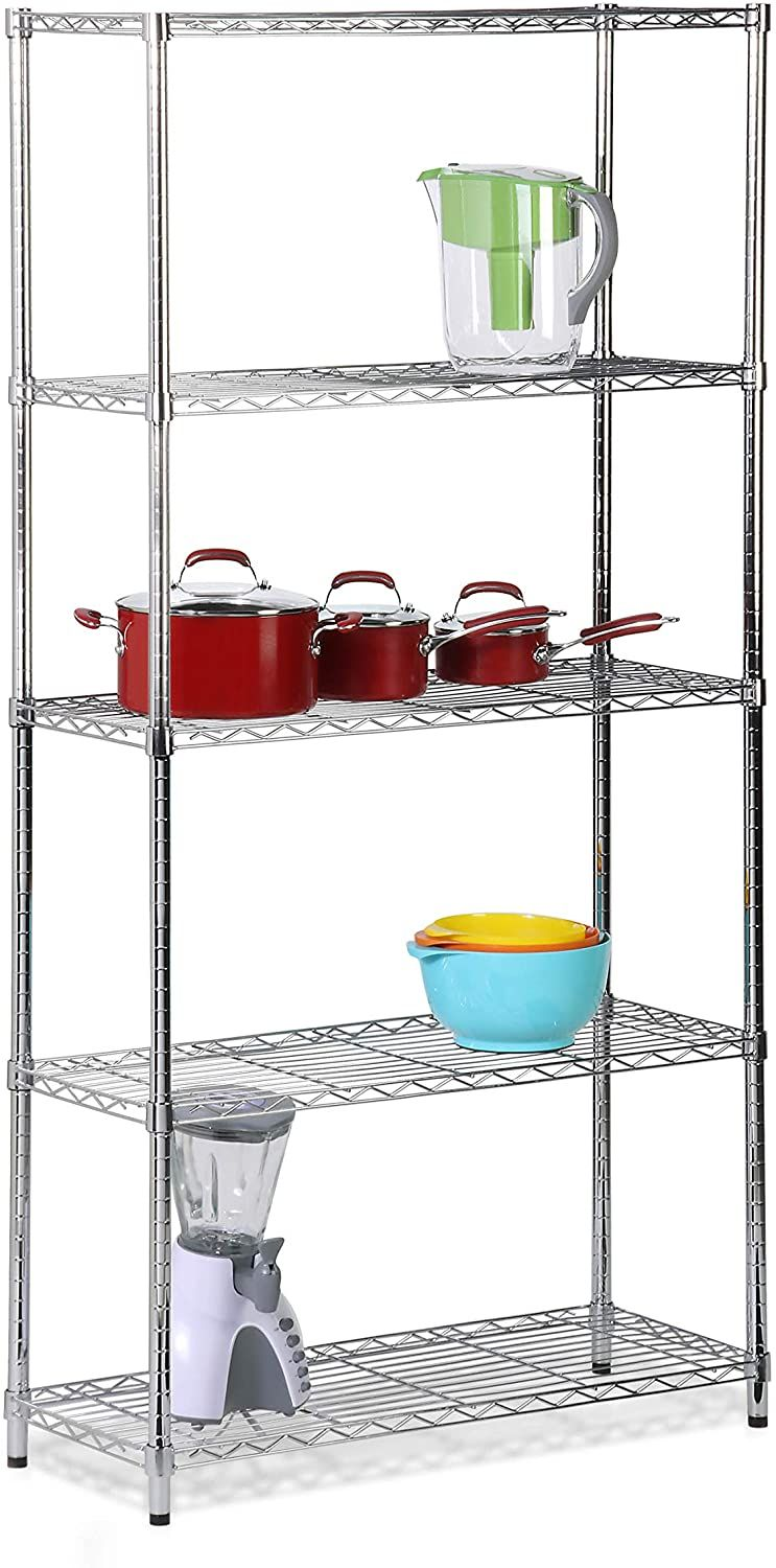 Top 10 Best Standing Baker Racks In 2020 Reviews In 2020 Steel Shelving Unit Steel Shelving Adjustable Shelving