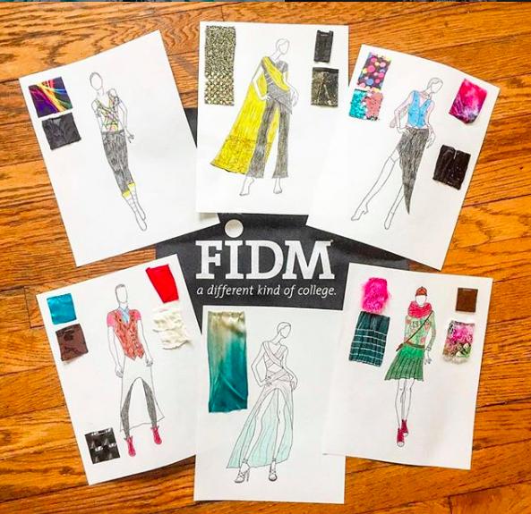 Loving This Fidm Fashiondesign Entrance Project Inspo From Joelalamode Top Fashion Schools Fashion Portfolio Fashion Merchandising