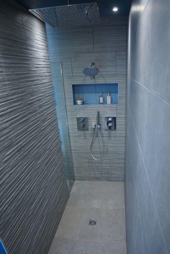 douche italienne niche pommeau de pluie groh murs. Black Bedroom Furniture Sets. Home Design Ideas