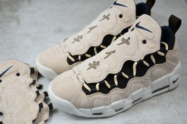 sports shoes dd636 cc5e7 2018 Nike Air More Money QS Japanese Yen AJ7383-800 On Sale-5