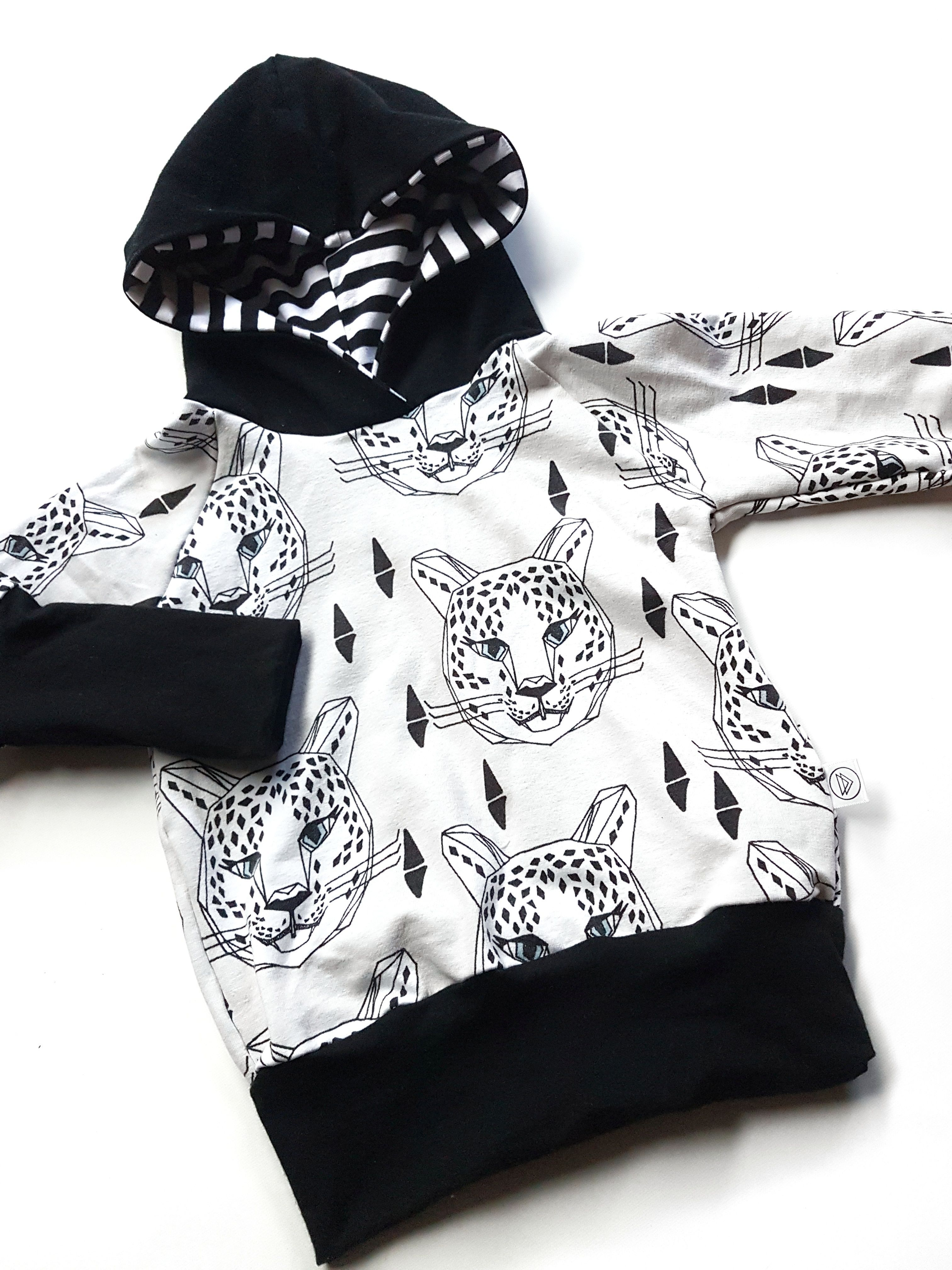 Super Modern And Cozy Light Grey Cheetah Hoodie Made With