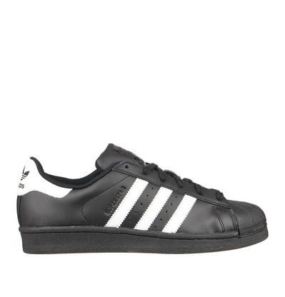 Sneakers noires cuir Superstar Adidas Originals pour femme prix Baskets  Adidas Monshowroom 90.00 € d0dc0a84ff8