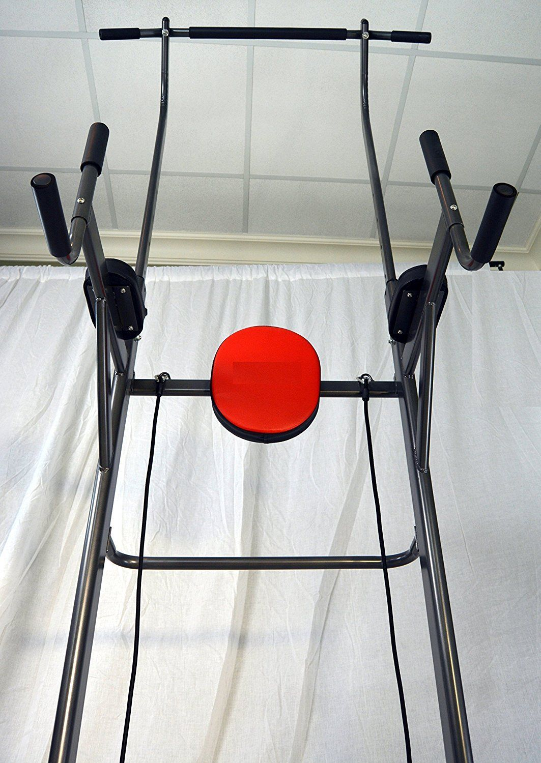 J fitness pull up chin up station power tower sturdy