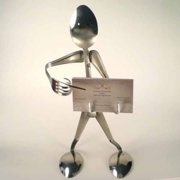 Silverware figure business card holder lesson plan ideas silverware figure business card holder colourmoves