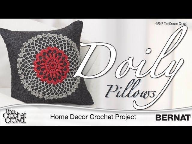 Crochet Doily Pillow Tutorial | Pinterest
