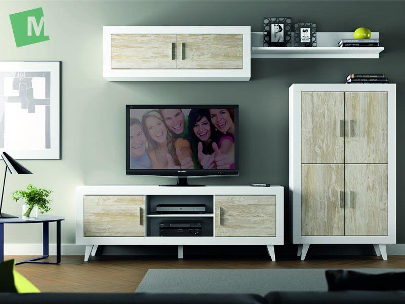 Mueble de comedor estilo mediterr neo modelo garraf - Modelos de muebles de salon ...