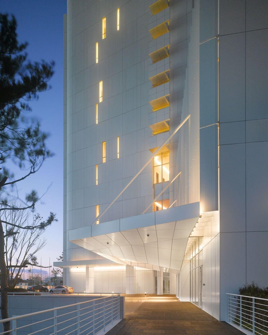"Richard Meier & Partners on Instagram ""Seamarq Hotel"