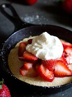 Individual Strawberry Shortcake Skillet Strawberry Shortcake Individual Strawberry Shortcake Favorite Dessert Recipes