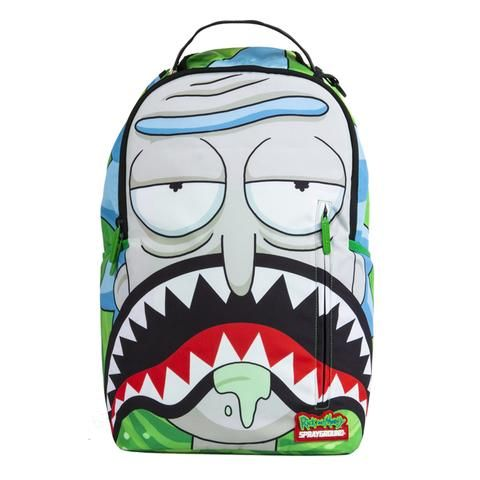 backpacks for school Backpacks For Sale, Cute Backpacks, Backpack Online, Backpack Bags, Rick And Morty Backpack, Mochila Adidas, Rick Y Morty, Painted Bags, Estilo Hippie