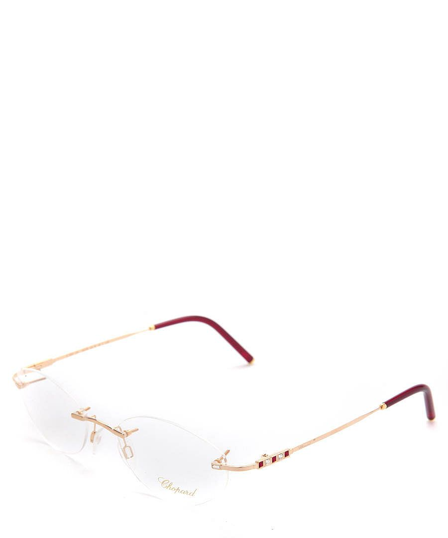 fa9364c58833 rimless glasses for women | Chopard Womens Rimless Diamante Frames,  Designer Accessories Sale .