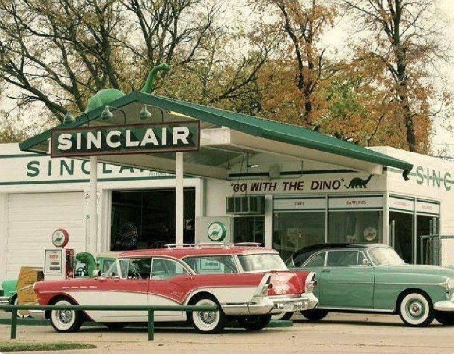 Pin by Scott Konshak on Vintage car dealers & gas stations