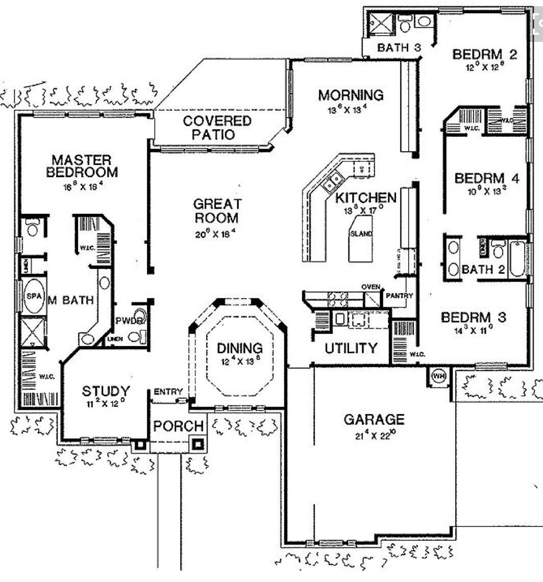 Wohnideen Raumaufteilung pin allen st clair auf house plan layouts