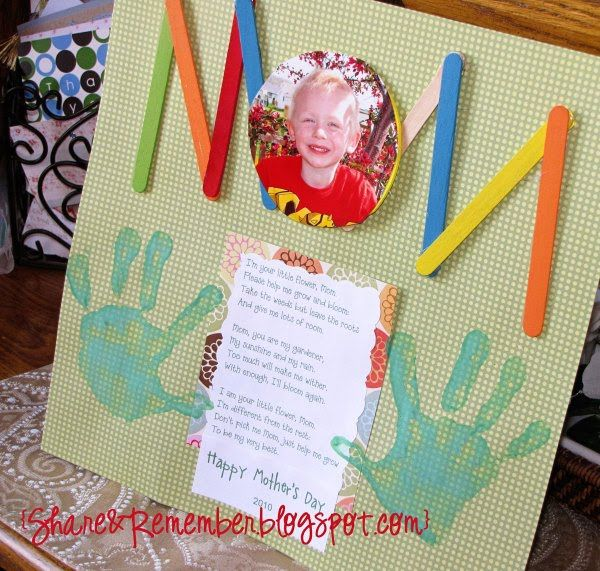 Mother S Day Projects For Preschoolers Room Mom Giraffe