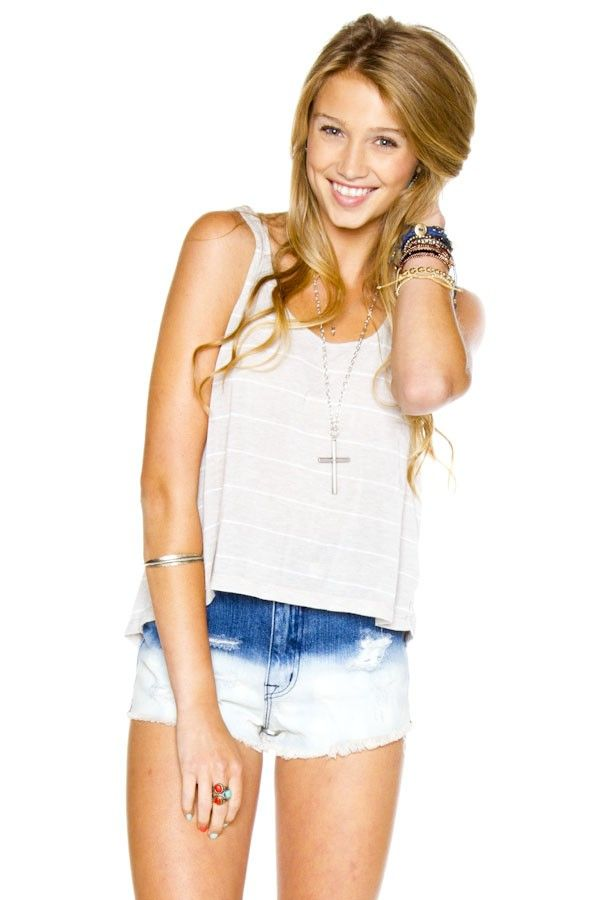 bliss tank- brandy melville