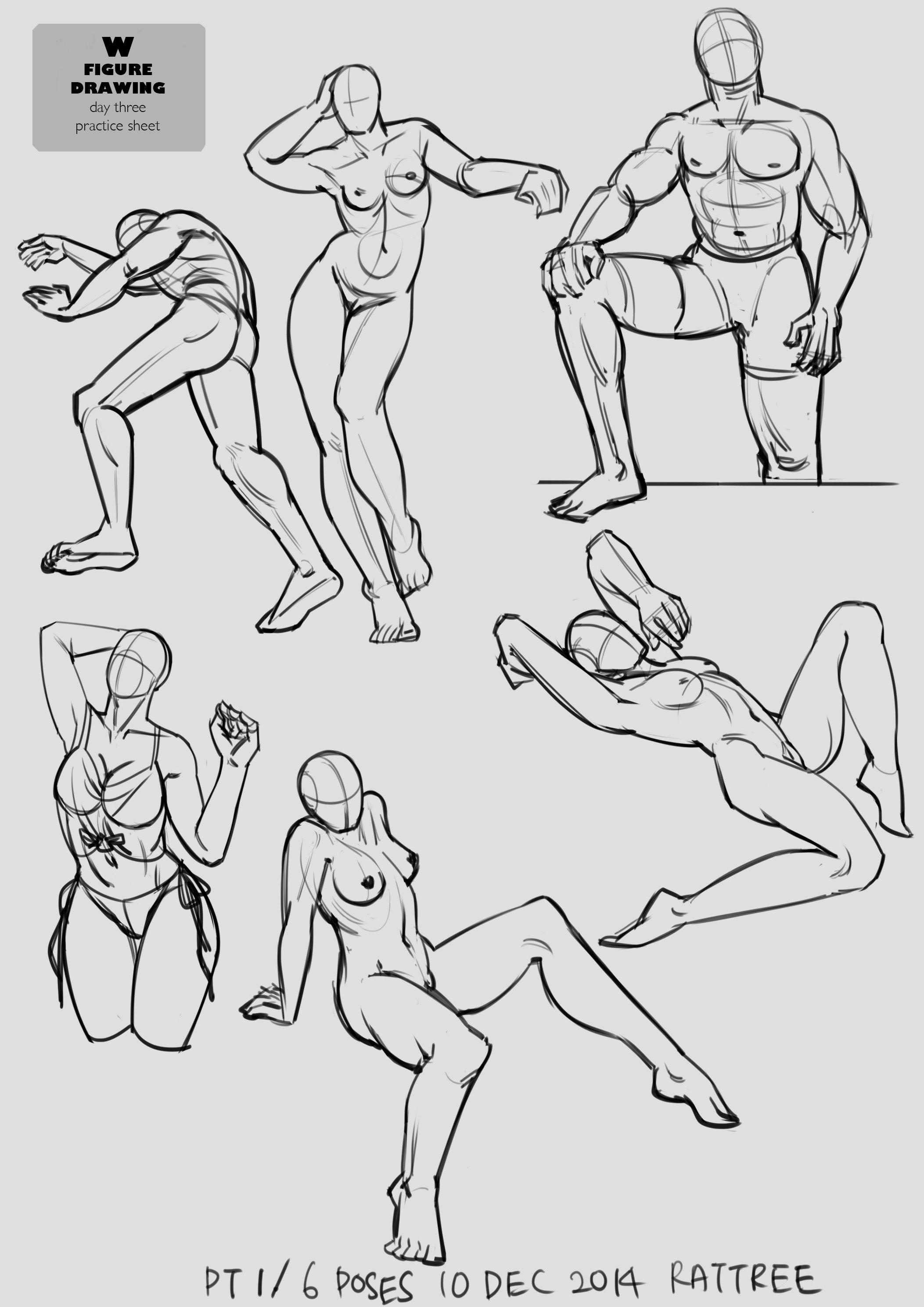 figuredrawing #art #anatomy #female #male #poses #sketch #studies ...