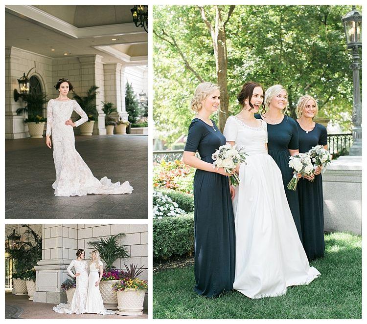 Modest Wedding Dresses, Lds Bride, Bride