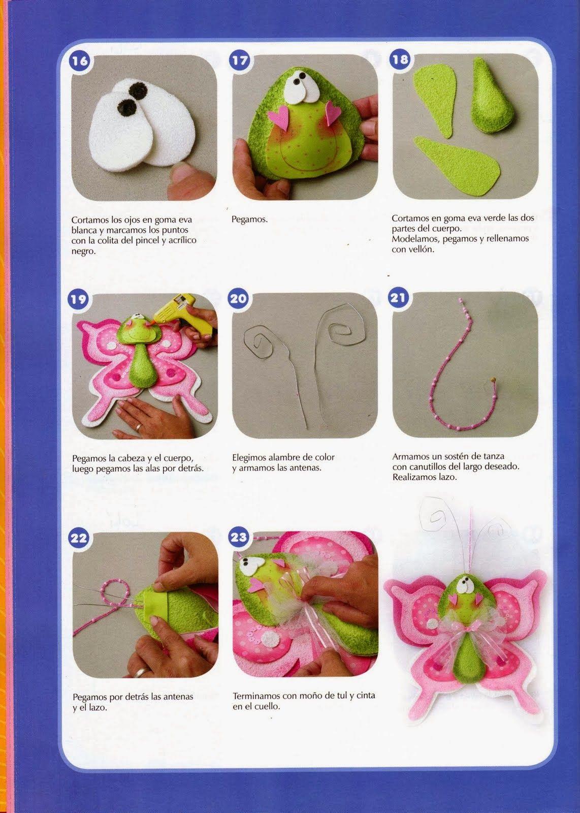 Revista de goma eva gratis | Foami Misceláneo | Pinterest | Foam ...
