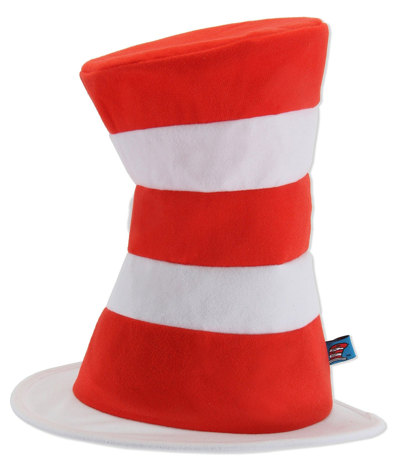 Seuss Cat In The Hat Toddler Child Fleece Costume Accessory Tophat Dr