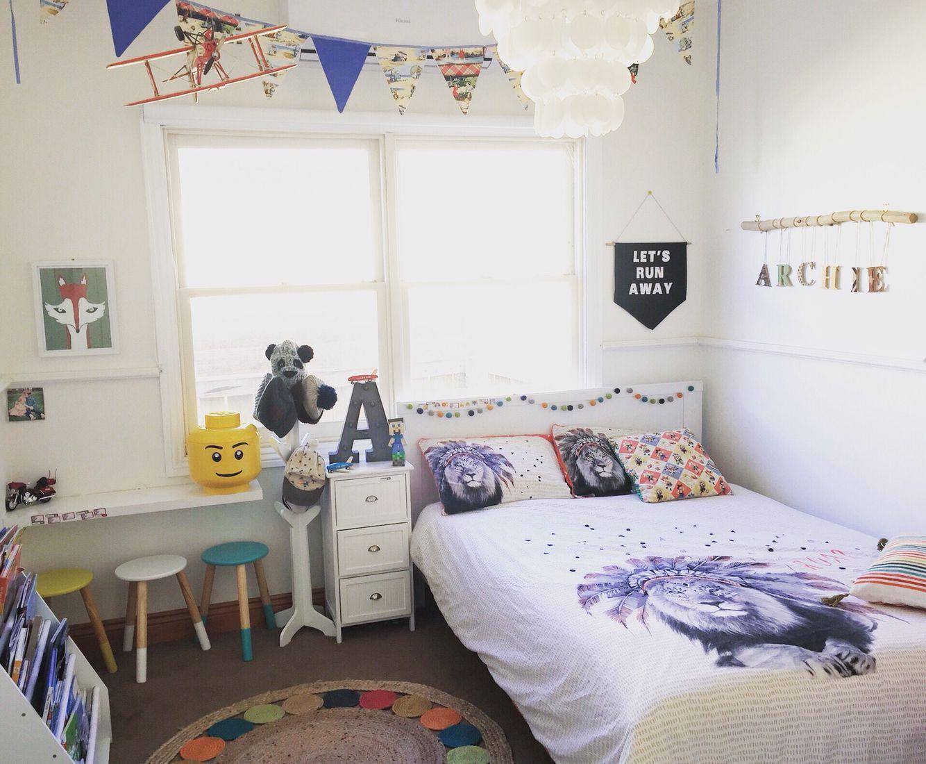 Boys room. Kids room. Adairs. Kmart. Colour
