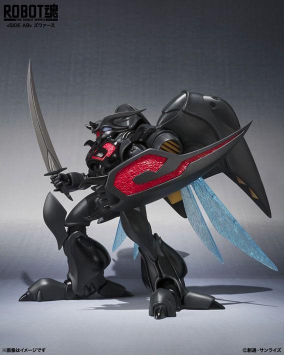 ROBOT Damashi Aura Battler Dunbine Zwarth