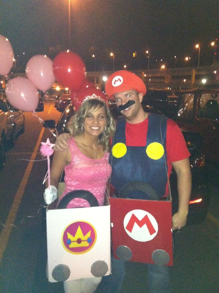 mario cart and princess peach costumes adult - Google Search ...