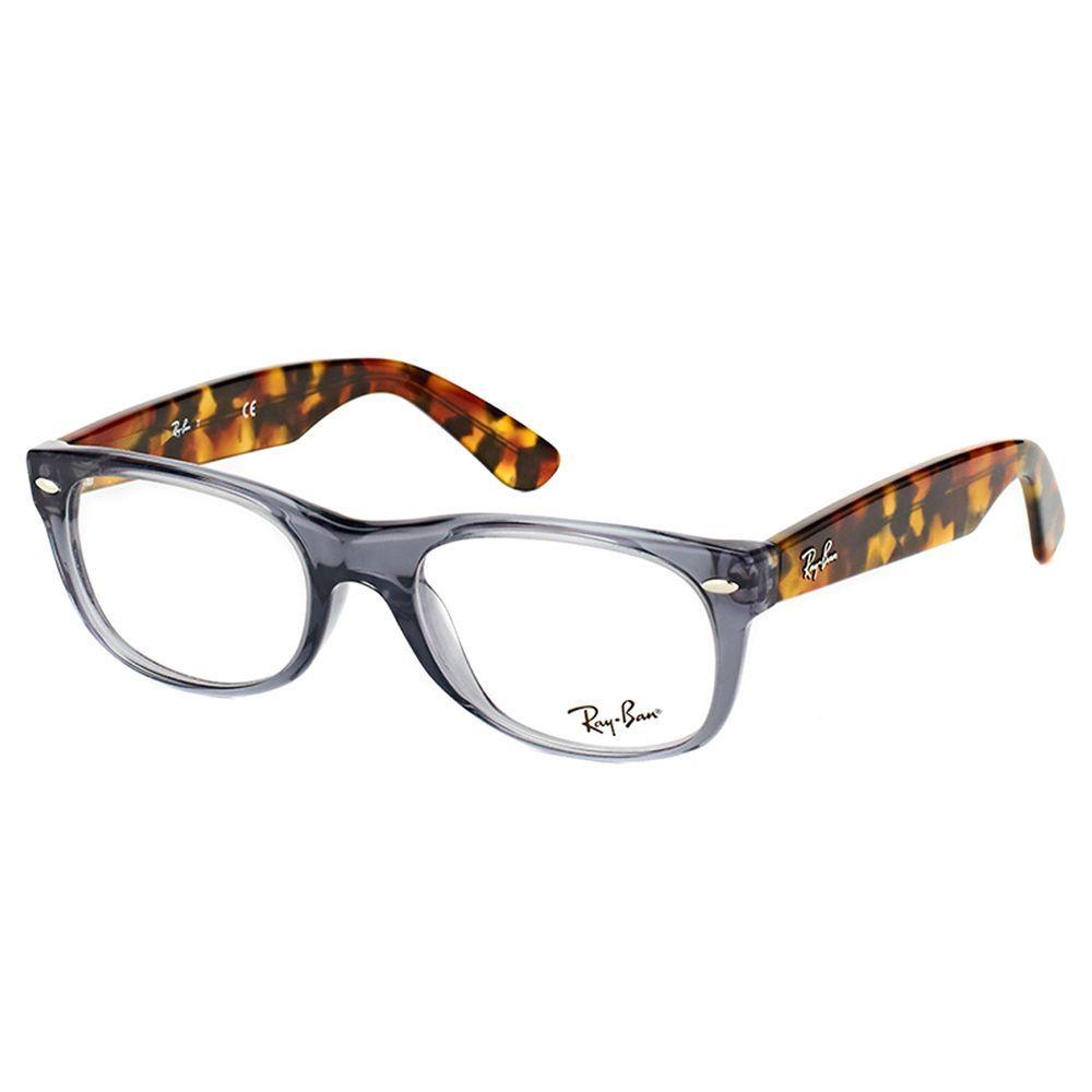 Ray-Ban RX 5184 5629 New Wayfarer Opal 50mm Wayfarer Eyeglasses ...