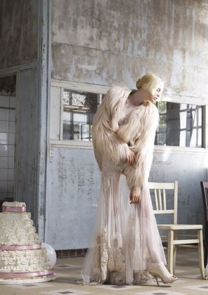 "Siri Tollerod in ""The Museum of Innocence"" by Sophie Delaporte for Vogue Turkey"