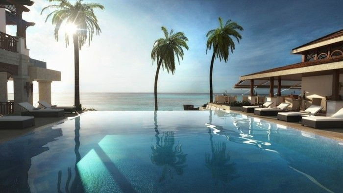 Luxus pool  160 tolle Bilder von Luxus Pool im Garten   Gartengestaltung Ideen ...