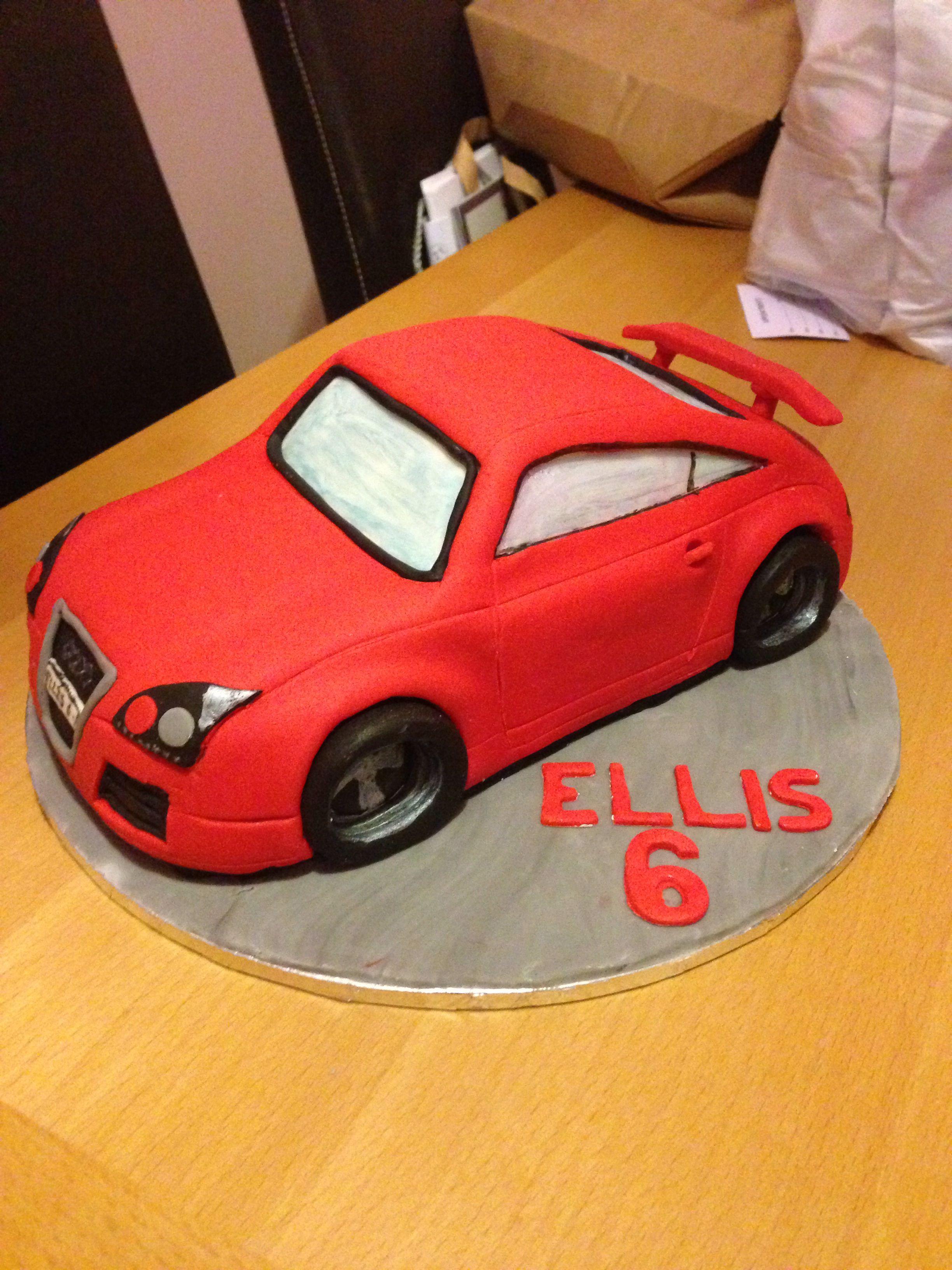 Audi Tt Hand Carved 3d Car Cake Kujutortide õpetused In 2019