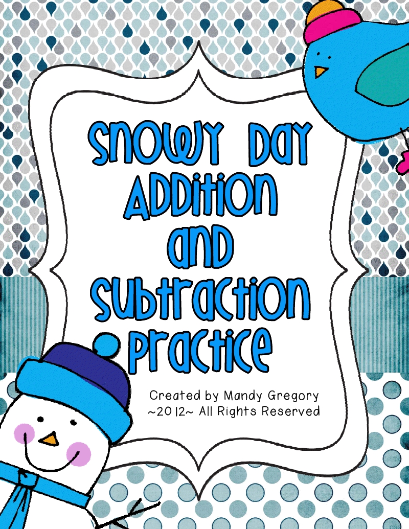 Addition and Subtraction without Regrouping Freebie in 2018 | Math ...