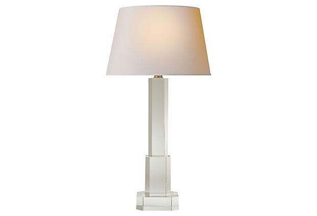 Transco Tower Table Lamp Crystal On Onekingslane Com Lamp Table Lamp Lamps Lighting