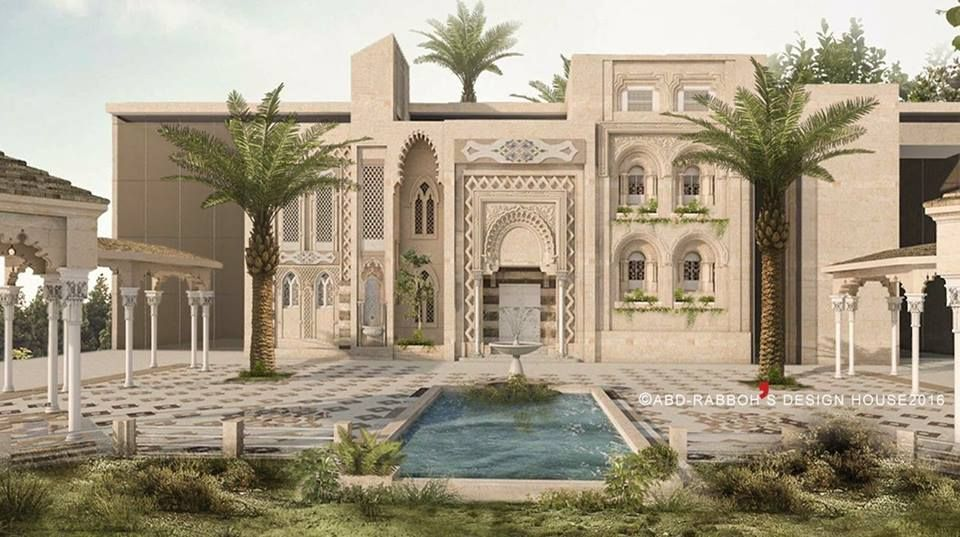 Andalusian Villaksa Contemporary Design With Old Arabic