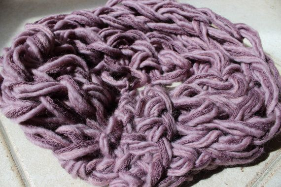 sciarpascaldacollo rete di ilFilodiFranci su Etsy,  Infinty scarf