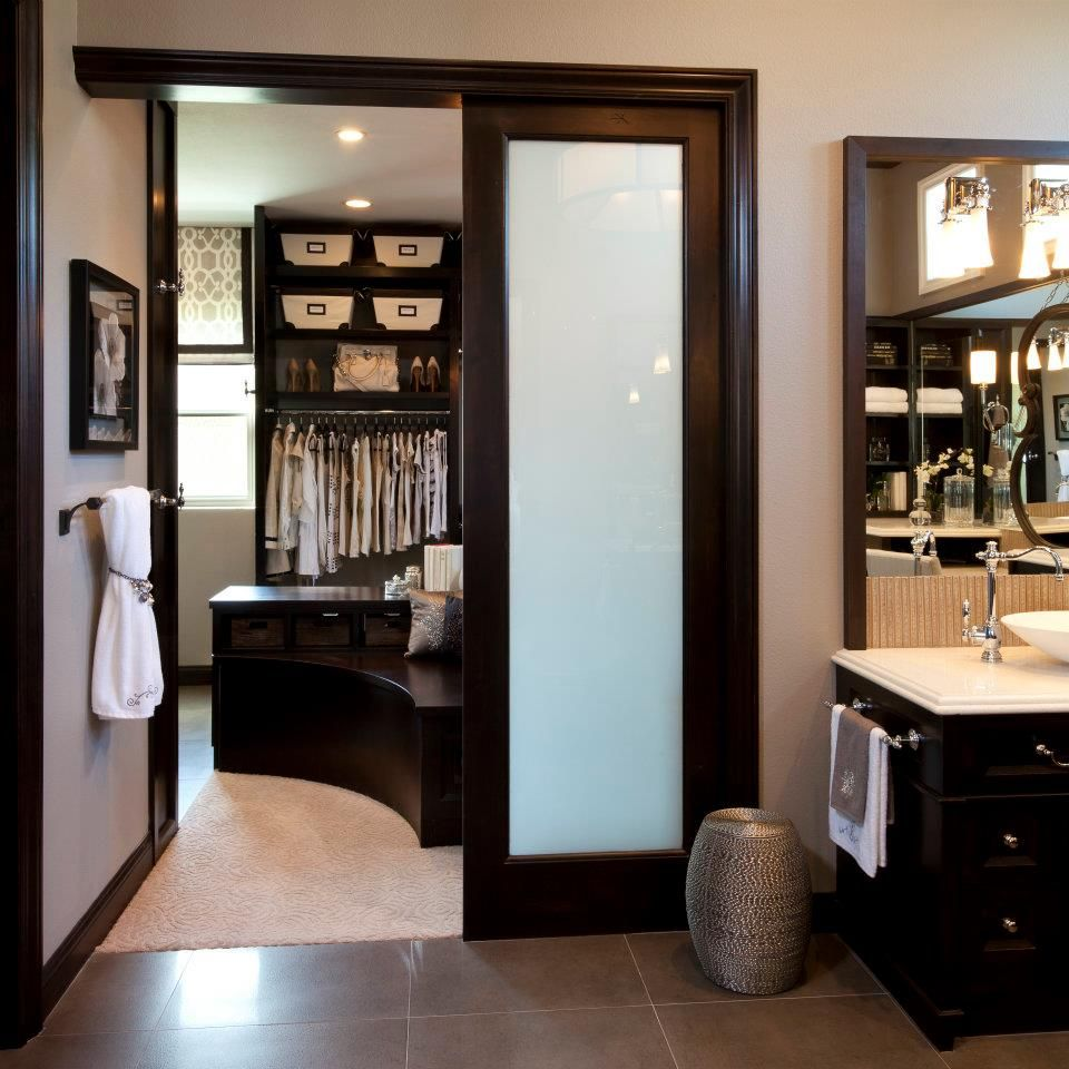 Bathroom And Walk In Closet Designs Adorable Robeson Design Want  Apartment Dreams  Pinterest  Rebecca Design Inspiration